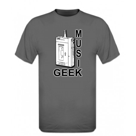 Tape Music Geek by Gewek